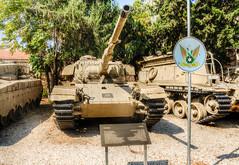 Centurion Main Battle Tank (maskirovka77) Tags: israeldefenseforces idf museum idfmuseum tanks m48 outdoors hdr armoredcar artillery antiaircraft armoredpersonnelcarrier bridgingequipment