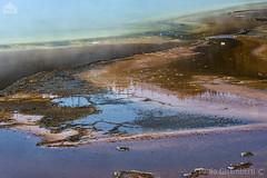 Grand Prismatic Spring (paolo.gislimberti) Tags: parchinazionali nationalparks yellowstonenp parcodiyellowstone touristdestinations meteturistiche paesaggi landscapes geology geologia reflections riflessi depositicalcarei calcareousdeposits sorgenticalde hotsprings