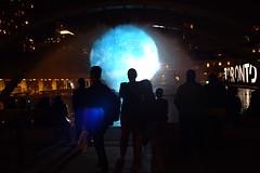 watching the planet boil (Ian Muttoo) Tags: dsc75181edit toronto ontario canada gimp ufraw nuitblanche 2016 nuitblanche2016 nbto16 street pneuma floriasigismondi nathanphillipssquare sunstar silhouette silhouettes