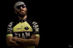Matteo (albertosicchiero) Tags: portrait lampista strobist ritratto cycling ciclismo black nero