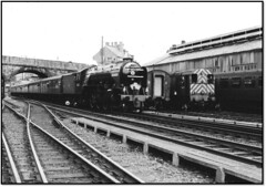 A2 on Special at Exeter (john48677) Tags: a2 60532 blue peter exeter sixties steam