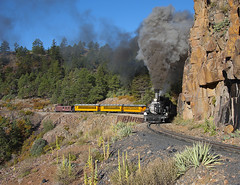 Runnin' the High Line (joemcmillan118) Tags: rockwood colorado highline durangosilverton dsng photocharter k28 473 narrowgauge