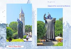 9 IMG_0846  Gregory de Nin  Split devant le clocher de la chapelle de Saint Raynerius (philippedaniele) Tags: vividstriking