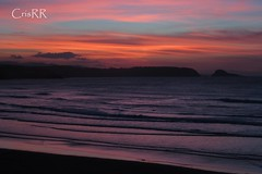 Colores de última hora (cristinabovary) Tags: asturias sunset sunsets ocaso ocasos beach beaches playa playas mar sea