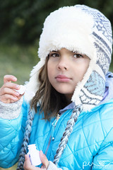 Winter (Photography By Pia Cerda) Tags: cold winter texas plainview girl six 6 years old photographybypia pia cerda 79072 portrait west blue green westtexas