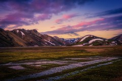 Carpe diem (Blai Figueras) Tags: islandia sky panorama montaas agua water mountains reflections river field horizon landscape atmosphere dawn ro longexposure le paraiso eden amanecer paisaje flickr snow iceland reflejos clouds cielo wow