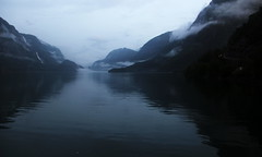 Camping spot somewhere in Norway (loveitorleaveit) Tags: wildcamping wild camping spot norway river fog foggy nature outdoor outdoors wilderness