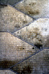 All in all it's just another brick in the wall..., All in all you're just another brick in the wall... (modestino68) Tags: muro wall mattoni bricks scale stairs pinkfloyd rogerwaters