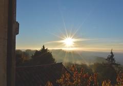 Rise and shine (francorbett) Tags: lasauvetat gers gascony france sunbursts mornings midipyrenees