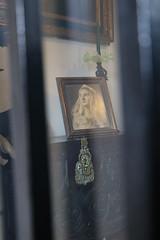 a Madonna portrait (xiaolifra) Tags: shadow siviglia walking espana spain lights chance portraits picoftheday photo moment time bridge amazing colorful dark blackwhite black simply emotions