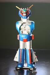 Rare Groizer-X (Nakajima 1970's) (Donald Deveau) Tags: groizerx magnemo diecast metal japanesetoy japanesecharacter robot vintagetoy raretoy nakajima chogokin