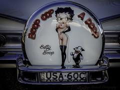 Betty Boop !!! (star79322) Tags: steveroebuckphotography theentrance car scene street bettyboop sydney australia m 43 olympus 2016