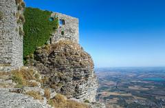 ERICE (Ennio Clemenzi) Tags: nikon erice sicily panorama landscape italy trapani travel castle ruins medieval a architettura allaperto paesaggio rocce