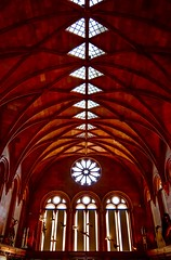 Smithsonian Institution 'Castle' (Little Hand Images) Tags: smithsonianinstitution thecastle curiosities history 1846 washingtondc museum ceiling symmetry antiquities nationaltreasures themall