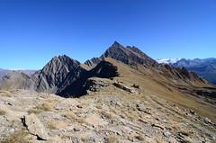Mont Fortin and Mont Rutor (supersky77) Tags: fortin montfortin veny valveny aosta valdaosta valledaosta valledaoste alpi alps alpen alpes alpine peak summit mountain glacier ghiacciaio vetta picco blue courmayeur
