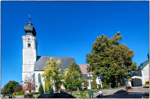 Oberösterreich - Pfarrkirche von St. Georgen im Attergau