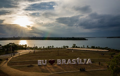 Ermida Dom Bosco (charlimbraw) Tags: brasil braslia df distritofederal ermida dombosco ermidadombosco pordosol prdosol crepsculo sun sunset