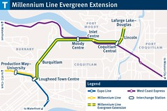Evergreen Line Transit Stations (BC Gov Photos) Tags: evergreen line transit extension skytrain translink public rapid coquitlam burnaby port moody train station