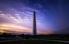 Washington Monument Sunset (TomBerrigan) Tags: washington dc monument national sunset district columbia