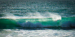 The Wave (judy dean) Tags: judydean 2016 sonya6000 wave cornwall roller turquoise surf spume windswept spindrift