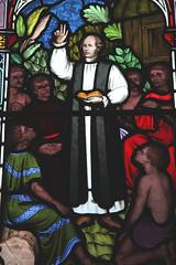 Stained Glass (All Saints Church) (Adam Swaine) Tags: windows churchwindows stainglass canon cambs colours glass swaine church interiors 2016