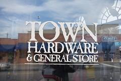 TOWN HARDWARE (SneakinDeacon) Tags: generalstore hardwarestore blackmountain reflections