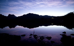 magnetic fields (Keith Midson) Tags: cradlemountain tasmania dusk reflection clouds sky tranquil lake dovelake still calm