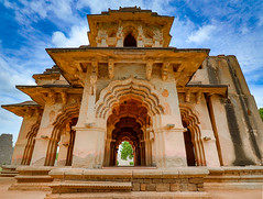 Lotus Mahal, Hampi (VickVision) Tags: hampi india karnataka canon80d canon 80d wide angle lens camera gear wideangle canon80dwideangle canon80d1018 1018mm heritage landscape landscapes photography scene photographer clouds beautiful