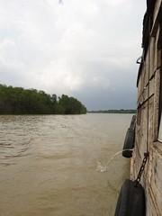 I had to go (program monkey) Tags: vietnam mekong river delta cargo boat ben tre tra vinh tire bumper fender