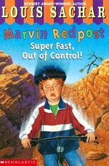 Super Fast, Out of Control! (Vernon Barford School Library) Tags: 043910632x louissachar louis sachar maywummer may wummer marvinredpost bicycles mountainbikes bikes fear afraid school schools cycling feelings emotions vernon barford library libraries new recent book books read reading reads junior high middle vernonbarford fiction fictional novel novels paperback paperbacks softcover softcovers covers cover bookcover bookcovers quick quickread quickreads qr readinglevel grade3 rl3