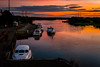 Last boat in (cogy) Tags: shannon river shannonbridge offaly ireland autumn sunset lukers boat cruiser emerald star quay harbour september