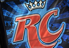 RC Cola Truck Graphics (Photographybyjw) Tags: blue red colors truck logo found this interesting graphics soft bright cola drink north carolina strong crown got really attention rc find photographybyjw