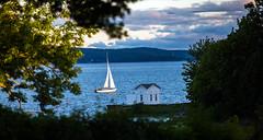 Kaptensudden, Petersvik, Sundsvall, Sweden (ffagency.com) Tags: sunset summer water boat sailing sweden swedish balticsea vatten sommar sundsvall petersvik kaptensudden