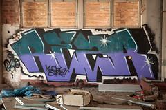 Sheffield graffiti (Tim Dennell) Tags: streetart graffiti sheffield graffitiart sheffieldstreet sheffieldmurals sheffieldartists sheffieldspraycan