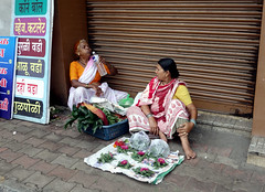 Old Street Ladies (cowyeow) Tags: poverty street old travel ladies people brown india shop wall lady rural asian asia sitting candid indian poor drinking sidewalk oldlady maharashtra selling shopfront loitering loiter southasia