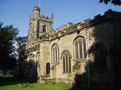 St Nicholas's, Nuneaton (Aidan McRae Thomson) Tags: church warwickshire nuneaton