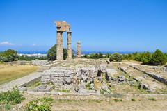 Temple d'Apollon (audrey.peridy) Tags: voyage temple rhodes grce couleur ensoleill