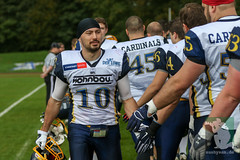 "RFL15 Remscheid Amboss vs. Assindia Cardinals 06.09.2015 005.jpg • <a style=""font-size:0.8em;"" href=""http://www.flickr.com/photos/64442770@N03/21034426320/"" target=""_blank"">View on Flickr</a>"
