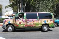 Flintstones Van (So Cal Metro) Tags: camping ford santabarbara escape cartoon van rv camper flintstones campervan econoline e150 eseries escapecampervans