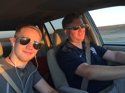 Alex Fryer and Wes Fryer enroute to Colo by Wesley Fryer, on Flickr