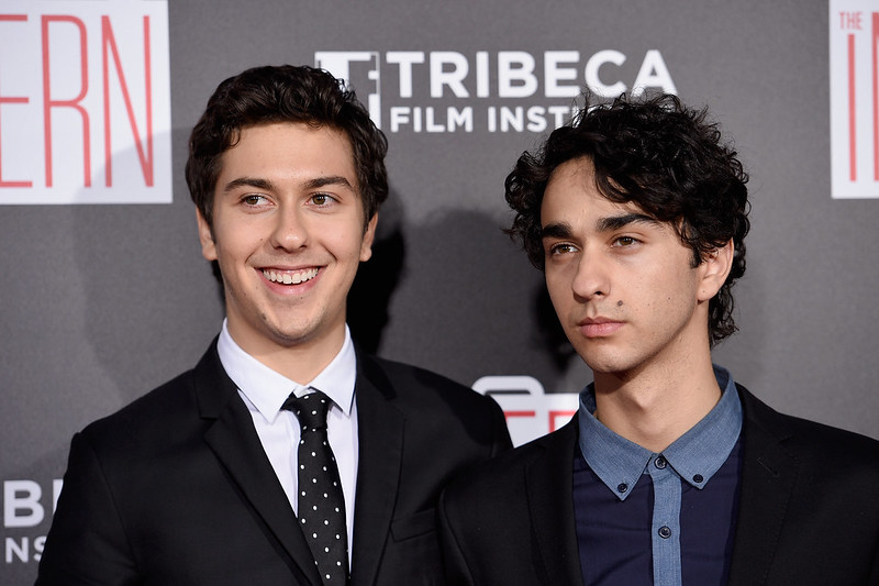 New york ny september 21 nat wolff and alex wolff attend the intern