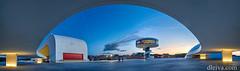 Plaza del Centro Niemeyer (Avils) (dleiva) Tags: panorama espaa niemeyer architecture spain arquitectura centre centro asturias center panoramic panoramica aviles domingo avils leiva cantabrico contemporanea dleiva