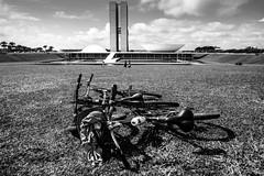 Distrito Federal (felipe sahd) Tags: city cidade bike brasília brasil noiretblanc bicicleta distritofederal 123bw