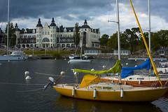 Saltsjbaden, Stockholm Sweden (PhotoSntesis) Tags: sailboat landscape boats stockholm ships segelbt saltsjbaden skrgrden archipielag