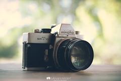Minolta SR-T 101 (kylevanhelden) Tags: camera old slr film 35mm vintage lens pretty minolta bokeh f14 hipster indie 58mm srt101 rokkor bokehwhore