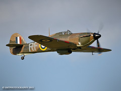 hurricane-1-1-1 (Stewart Taylor (SMT Photography)) Tags: photography flying photo fighter aircraft aviation air hurricane transport flight airshow warbird raf hawker battleofbritain airdisplay hawkerhurricane royalairforce churchfenton flyingdisplay