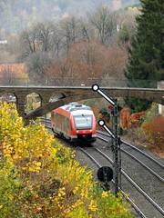648 267 Goslar (vbazsa) Tags: train eisenbahn rail railway zug db bahn signal goslar niedersachsen piros vonat triebwagen vast vorsignal hauptsignal jelz