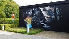 Klaas Van der Linden / Sleidinge - 10 okt 2015 (Ferdinand 'Ferre' Feys) Tags: streetart graffiti belgium belgique belgië urbanart graff ghent gent gand graffitiart arteurbano artdelarue urbanarte klaasvanderlinden
