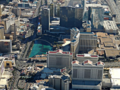 Las Vegas Strip (kenjet) Tags: city vegas paris hotel cosmopolitan view lasvegas aerial casino windowview thestrip bellagio caesarspalace hotels fromthewindow fountains casinos caesars aria parishotel lv overview cityview cosmopolitanhotel lasvegasstrip ariahotel