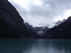 Lake Louise & Victoria Glacier (Clarissa Peterson) Tags: lake mountains water glacier lakelouise victoriaglacier